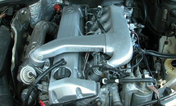 фото двигателя OM602