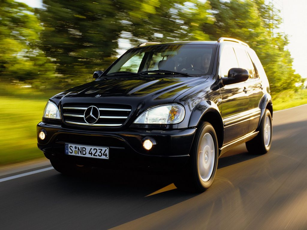 Mercedes ml 300 mercedes ml 400 for Mercedes benz ml 300