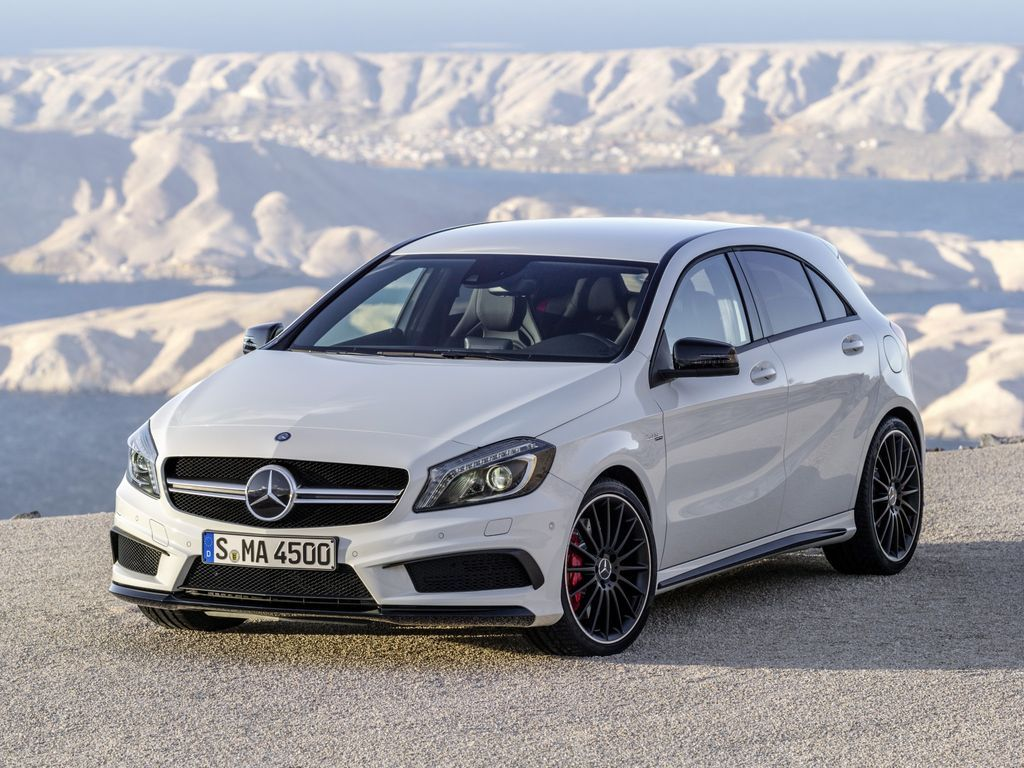 Mercedes-Benz обновила A 45 AMG