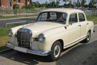 Понтоны - Развитие марки Mercedes-Benz