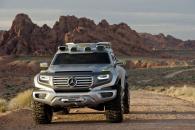 Mercedes Ener-G-Force – автомобиль будущего от немецкого производителя
