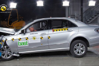 Краш-тест нового Мерседеса Е класса (Mercedes E-class) по методике EuroNCAP