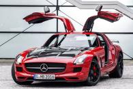 Mercedes SLS AMG тест драйв