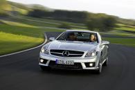 Mercedes SL - спортивный Мерседес с откидным верхом