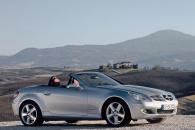 Классический родстер Mercedes SLK 200