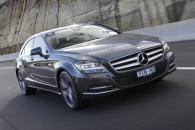 Новая версия Мercedes CLS 350 в кузове купе