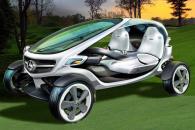 Экологически чистый гольф-карт от Mercedes-Benz