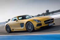 Mercedes SLS AMG Black Series покорит любого экстримала