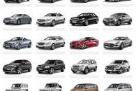 Маркировка кузовов автомобилей Mercedes: числовые и буквенные индексы